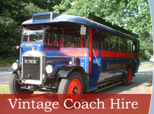 Vintage Bus Hire Wedding Coach